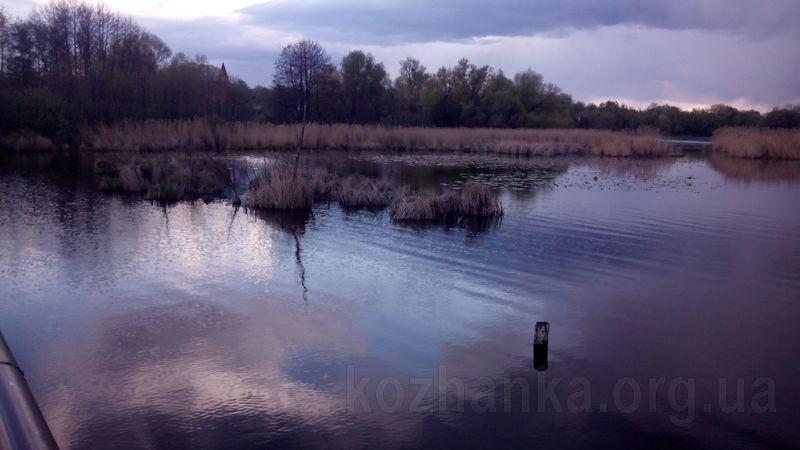 Кожанка, осінь, річка