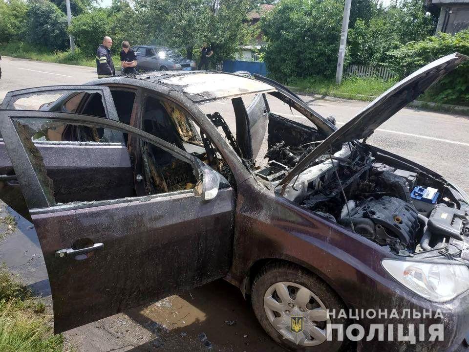 Взрыв баллона в авто пгт Кожанка